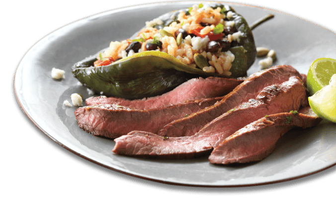 Poblano Peppers with Star Ranch Angus Beef