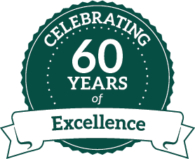 Celebrating 60 yrs of Excellence