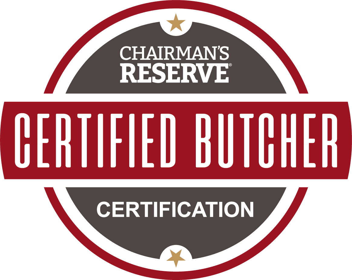 Chairman's Reserve Certified Butcher Certification